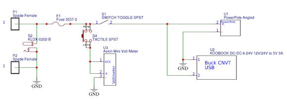 Battery Monitor schematic