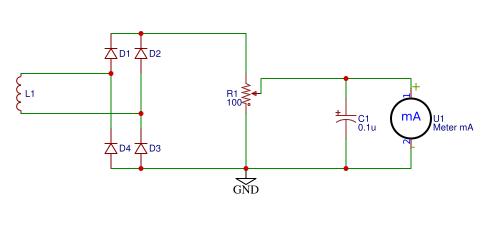 RF Probe schematic
